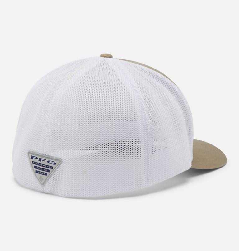 PFG Mesh™ Ball Cap XXL   221   O/S PFG Mesh™ Ball Cap XXL, Tusk, White, Fish Flag, back