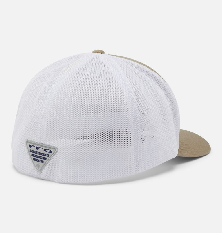 PFG Mesh™ Ball Cap XXL | 221 | O/S PFG Mesh™ Ball Cap XXL, Tusk, White, Fish Flag, back