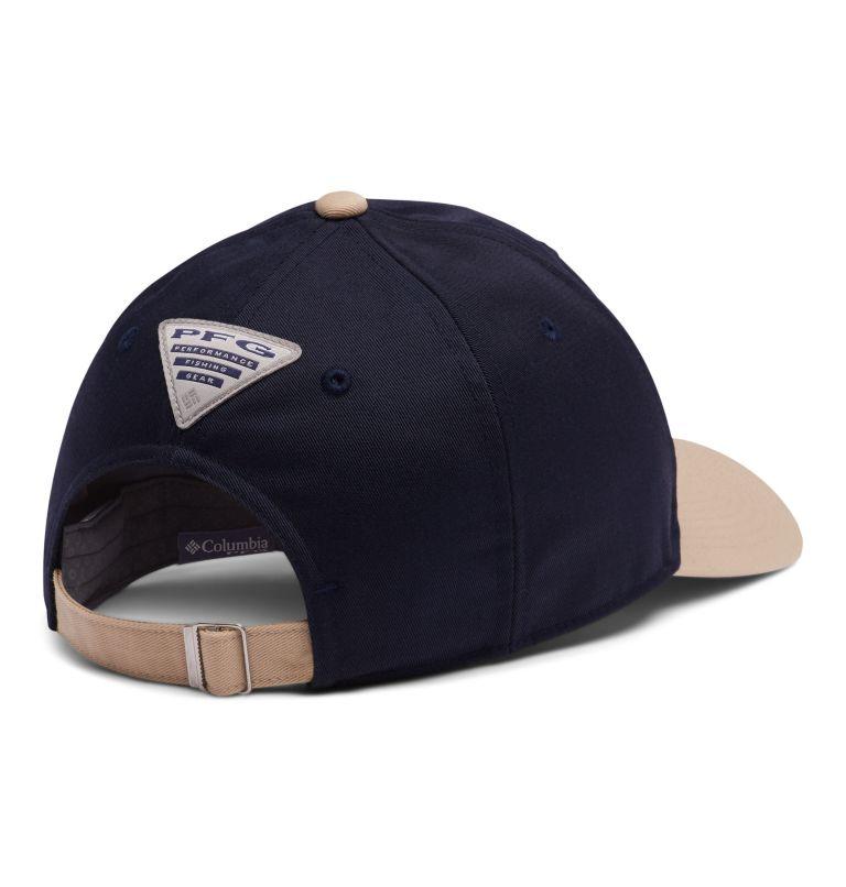 PFG™ Permit Ball Cap | 466 | O/S PFG Permit™ Ball Cap, Collegiate Navy, Beach, Cool Grey Bass, back