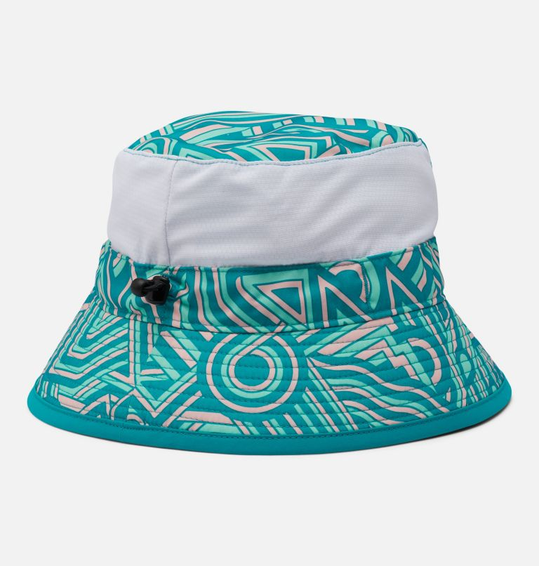 Youth Booney | 360 | O/S Kids' Booney Hat, Tropic Water, back