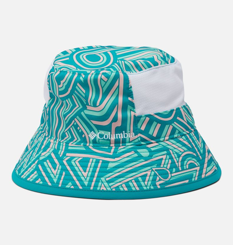 Youth Booney | 360 | O/S Kids' Booney Hat, Tropic Water, front
