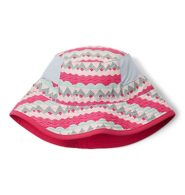 Kids' Booney Hat Youth Booney | 612 | O/S, Cactus Pink Striped Peaks, Cactus Pink, front