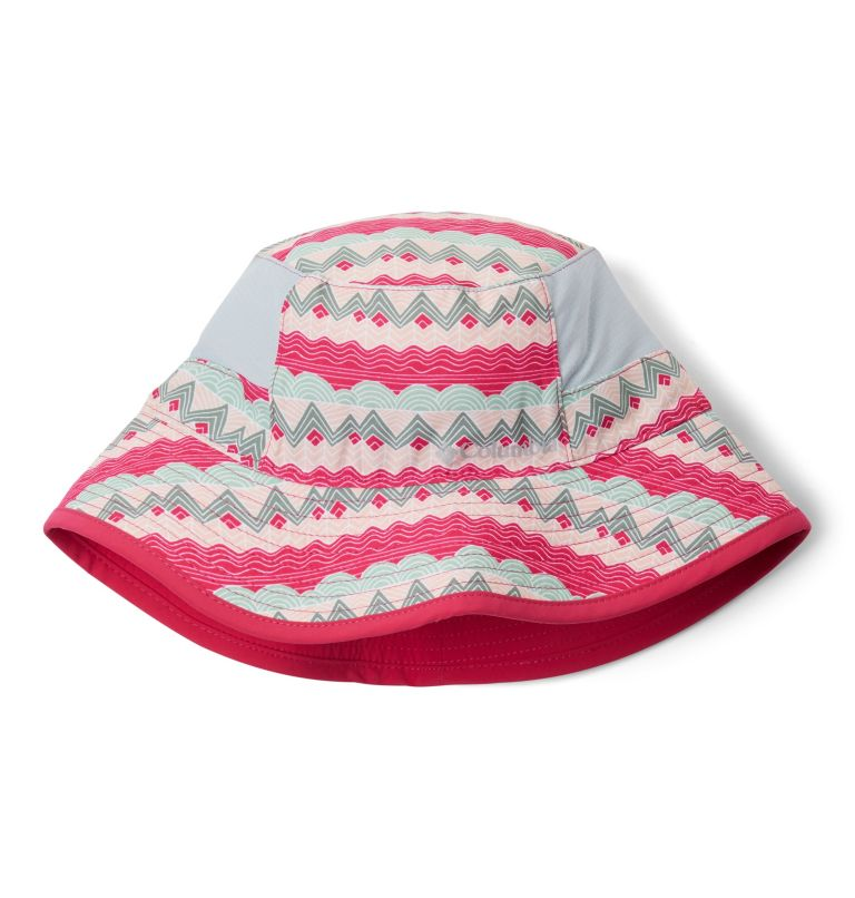 Youth Booney | 612 | O/S Kids' Booney Hat, Cactus Pink Striped Peaks, Cactus Pink, front
