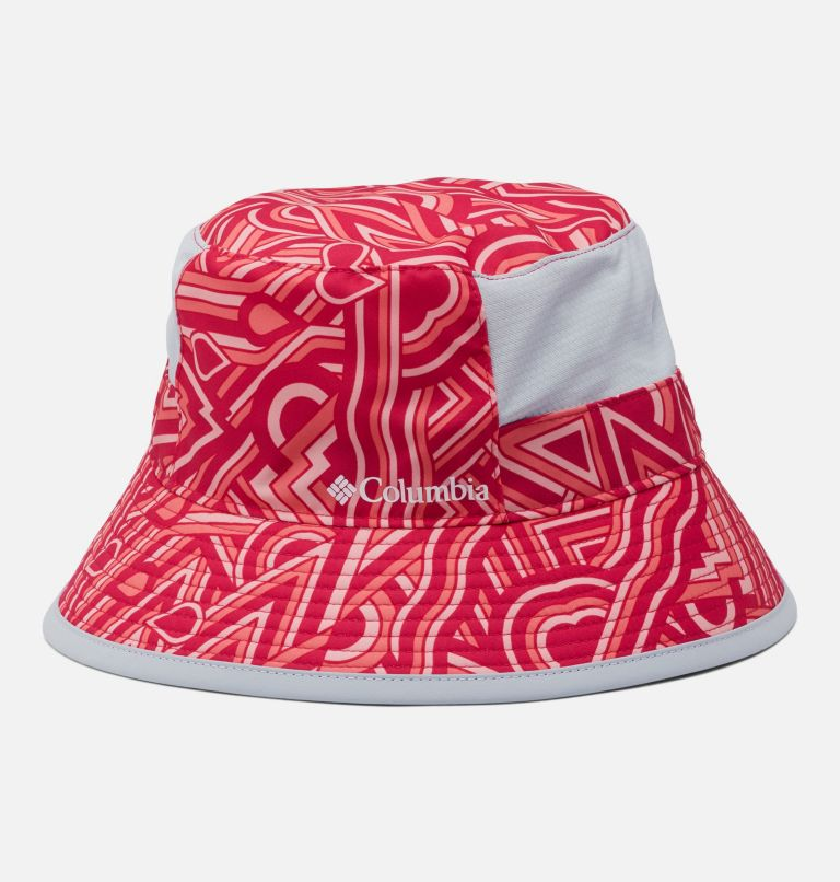 Youth Booney | 615 | O/S Kids' Booney Hat, Cactus Pink, Geo Print, front