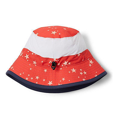 Kids' Booney Hat Youth Booney | 612 | O/S, Bright Poppy Starlit Print, Bright Poppy, back