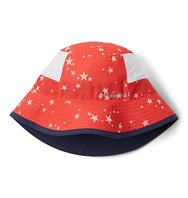 Kids' Booney Hat Youth Booney | 612 | O/S, Bright Poppy Starlit Print, Bright Poppy, front