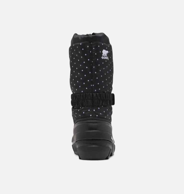 YOUTH FLURRY™ PRINT | 010 | 6 Youth Flurry™ Print Boot, Black, back