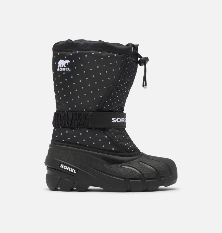 YOUTH FLURRY™ PRINT | 010 | 6 Youth Flurry™ Print Boot, Black, front