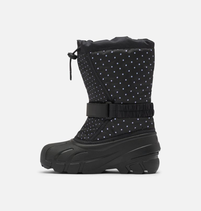 YOUTH FLURRY™ PRINT | 010 | 7 Youth Flurry™ Print Boot, Black, medial