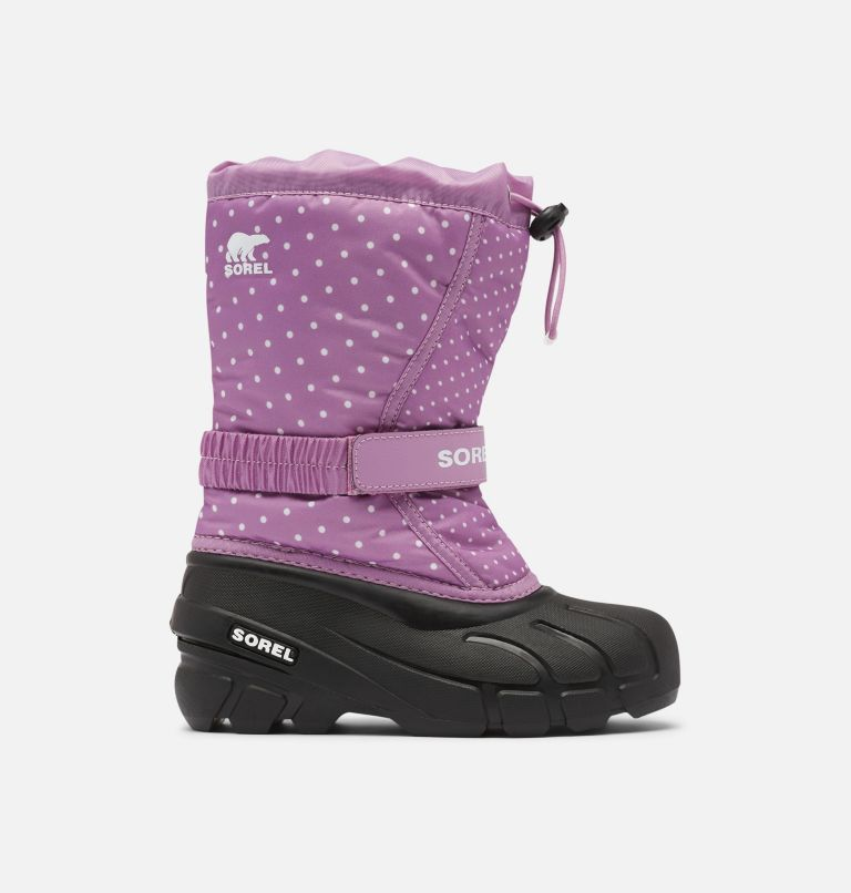 YOUTH FLURRY™ PRINT   541   4 Youth Flurry™ Print Boot, Violet Haze, front