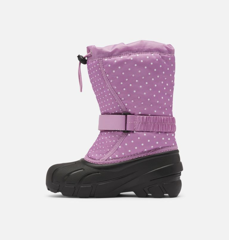 YOUTH FLURRY™ PRINT   541   4 Youth Flurry™ Print Boot, Violet Haze, medial