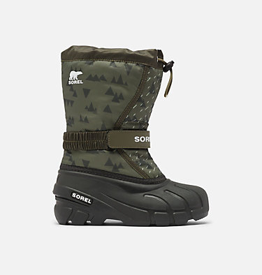 Childrens Flurry™ Print Boot CHILDRENS FLURRY™ PRINT | 541 | 10, Slate Green, front