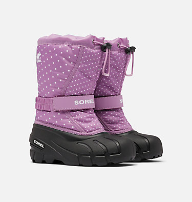 Childrens Flurry™ Print Boot CHILDRENS FLURRY™ PRINT | 541 | 10, Violet Haze, 3/4 front