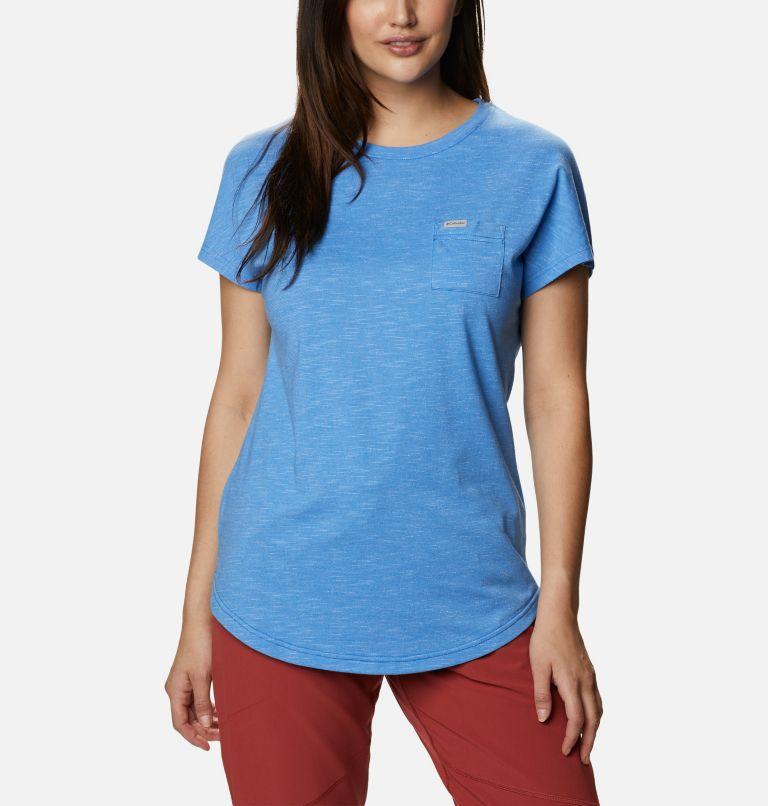 Cades Cape™ Tee | 485 | XL Women's Cades Cape™ T-Shirt, Harbor Blue, front