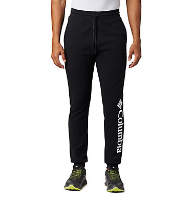 Men's Columbia Lodge™ Double Knit Joggers Columbia Lodge™ Dbl Knit Jogger | 030 | XL, Black, front