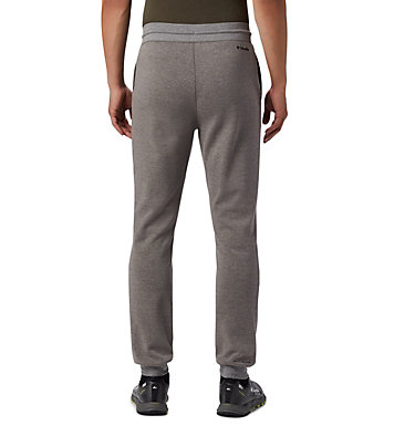 Pantalón de chándal de punto doble Columbia Lodge™ para hombre Columbia Lodge™ Dbl Knit Jogger | 030 | L, Charcoal Heather, back