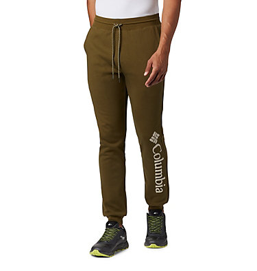 Men's Columbia Lodge™ Double Knit Jogger Columbia Lodge™ Dbl Knit Jogger | 030 | L, New Olive, front