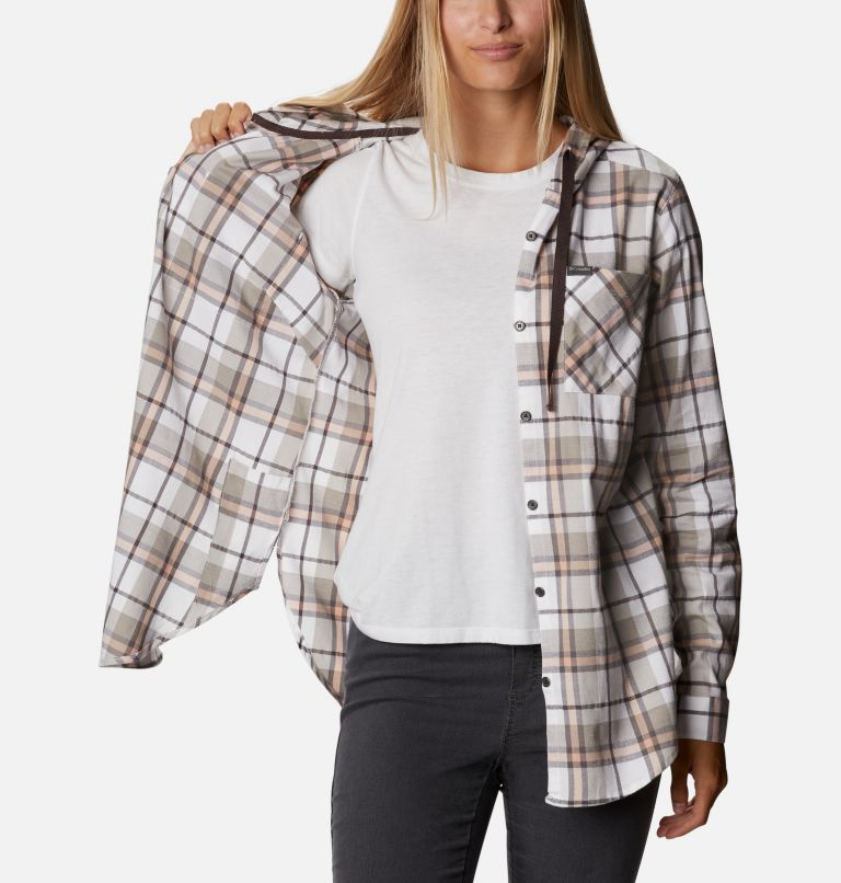 Women's Anytime™ Stretch Hooded Long Sleeve Shirt Women's Anytime™ Stretch Hooded Long Sleeve Shirt, a3