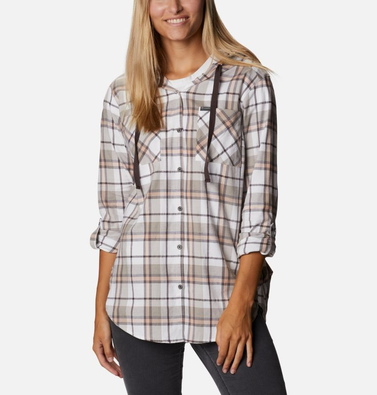 Women's Anytime™ Stretch Hooded Long Sleeve Shirt Women's Anytime™ Stretch Hooded Long Sleeve Shirt, a5