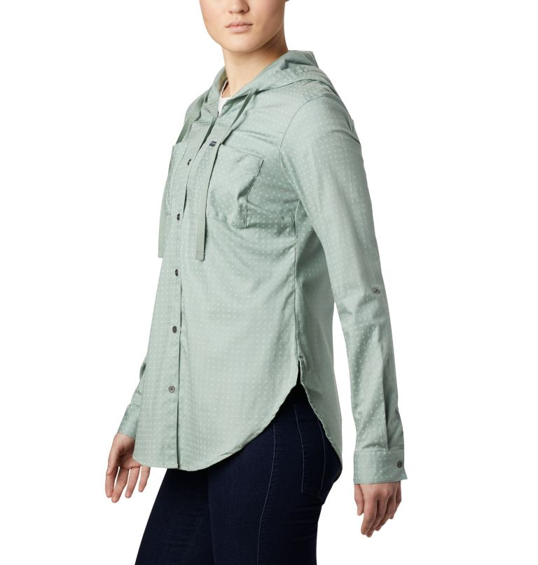 Women's Anytime™ Stretch Hooded Long Sleeve Shirt Women's Anytime™ Stretch Hooded Long Sleeve Shirt, a2