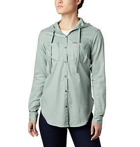 Women's Anytime™ Stretch Hooded Long Sleeve Shirt