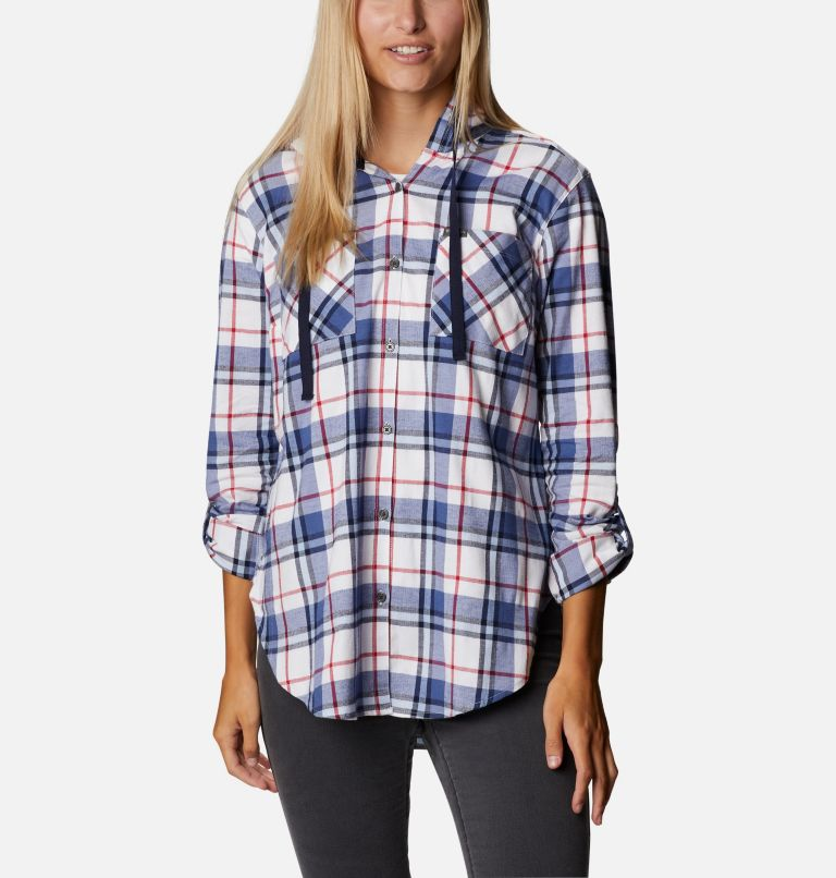 Women's Americana Anytime™ Stretch Hooded Long Sleeve Shirt Women's Americana Anytime™ Stretch Hooded Long Sleeve Shirt, a5