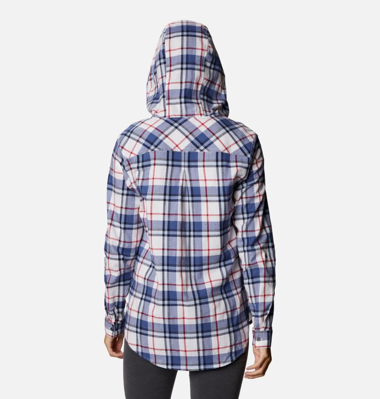 Women's Americana Anytime™ Stretch Hooded Long Sleeve Shirt Women's Americana Anytime™ Stretch Hooded Long Sleeve Shirt, back
