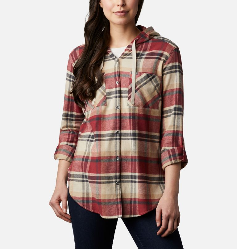 Women's Anytime™ Stretch Hooded Long Sleeve Shirt Women's Anytime™ Stretch Hooded Long Sleeve Shirt, a4