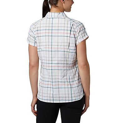Women's Silver Ridge™ Novelty Short Sleeve Shirt Silver Ridge™ Novelty SS Shirt | 383 | L, Light Mint Windowpane, back
