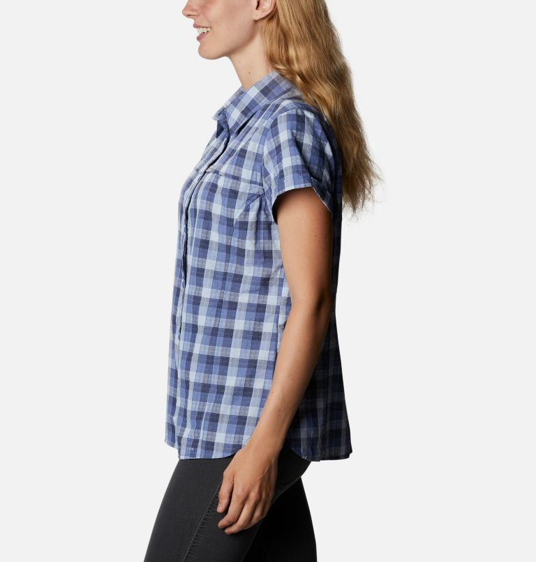 Silver Ridge™ Novelty SS Shirt | 458 | XXL Women's Silver Ridge™ Novelty Short Sleeve Shirt, Velvet Cove Gingham, a1