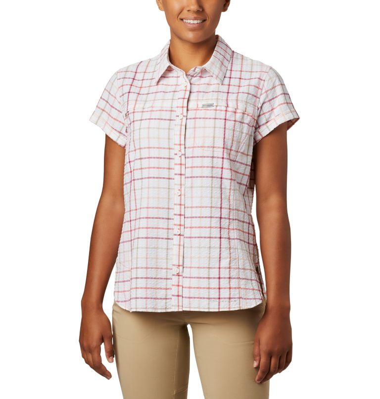 Women's Silver Ridge™ Novelty Short Sleeve Shirt Women's Silver Ridge™ Novelty Short Sleeve Shirt, front