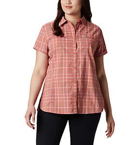 Chemise originale à manches courtes Silver Ridge™ pour femme – Grandes tailles
