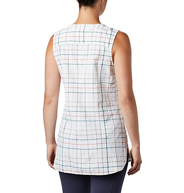 Tunique originale Silver Ridge™ pour femme Silver Ridge™ Novelty Tunic | 032 | L, Light Mint Windowpane, back