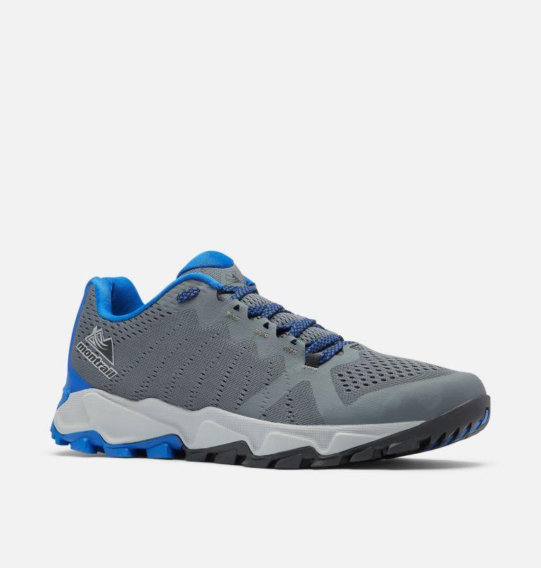 TRANS ALPS™ F.K.T. III | 053 | 10.5 Men's Trans Alps™ F.K.T.™ III Trail Running Shoe, Graphite, Cobalt Blue, 3/4 front