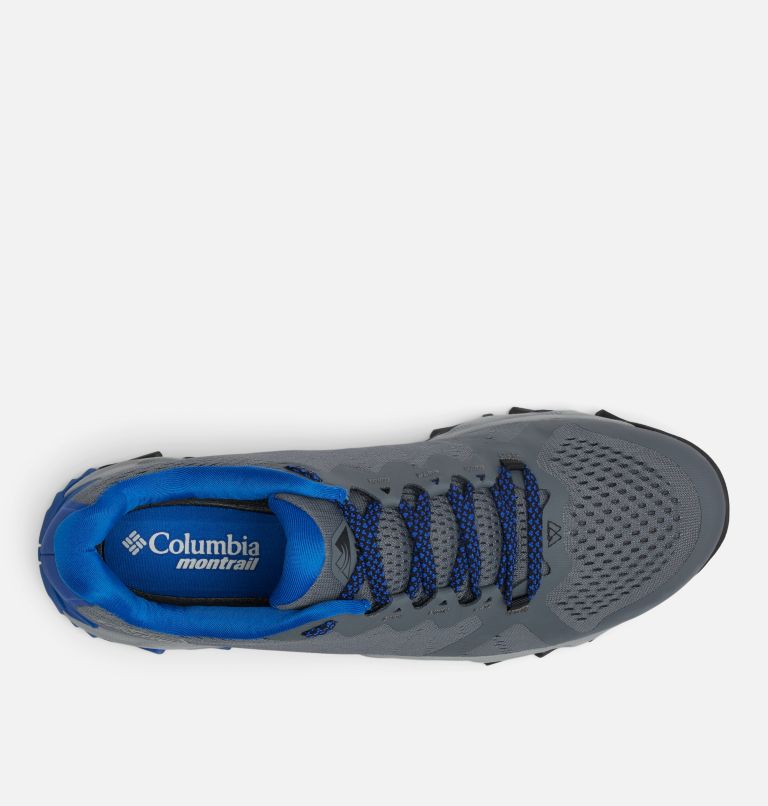 TRANS ALPS™ F.K.T. III | 053 | 13 Men's Trans Alps™ F.K.T.™ III Trail Running Shoe, Graphite, Cobalt Blue, top