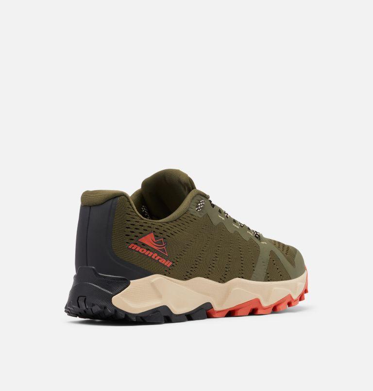 TRANS ALPS™ F.K.T. III | 383 | 8 Men's Trans Alps™ F.K.T.™ III Trail Running Shoe, Nori, Autumn Orange, 3/4 back