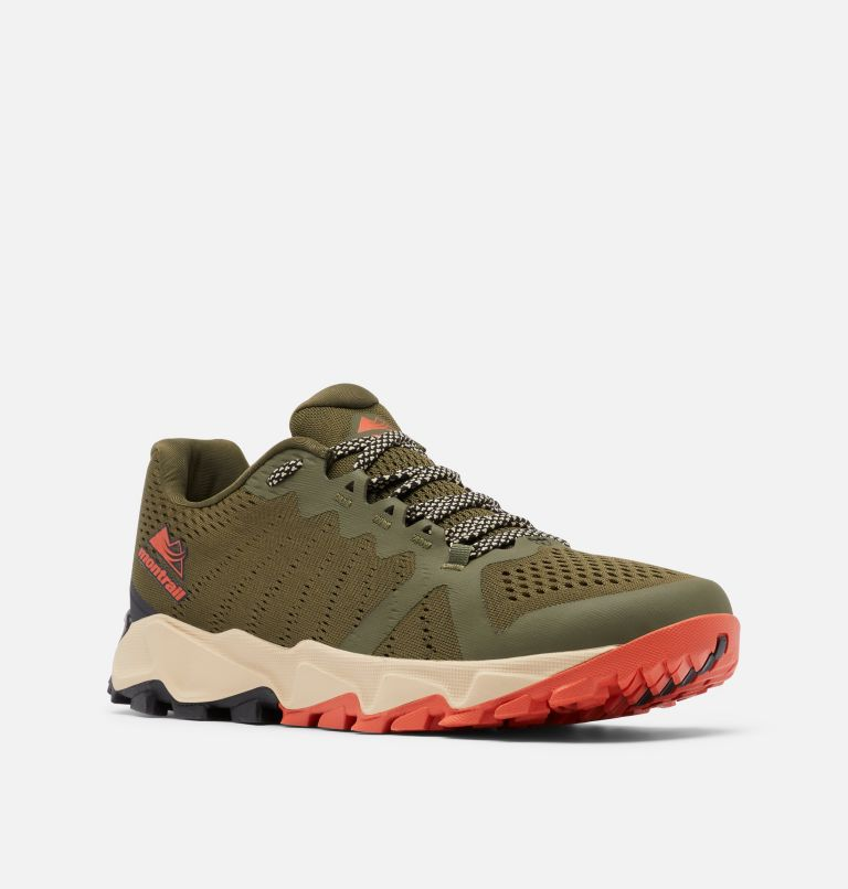 TRANS ALPS™ F.K.T. III | 383 | 11.5 Men's Trans Alps™ F.K.T.™ III Trail Running Shoe, Nori, Autumn Orange, 3/4 front