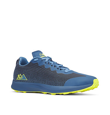 Men's F.K.T.™ Lite Trail Running Shoe COLUMBIA MONTRAIL F.K.T.™ LITE | 465 | 7, Whale, Zour, 3/4 front