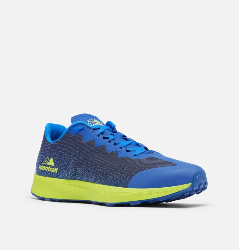 COLUMBIA MONTRAIL F.K.T.™ LITE | 465 | 13 Men's F.K.T.™ Lite Shoe, Aviation, Acid Green, 3/4 front