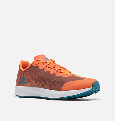 Men's F.K.T.™ Lite Trail Running Shoe COLUMBIA MONTRAIL F.K.T.™ LITE | 010 | 10, Autumn Orange, Deep Wave, 3/4 front