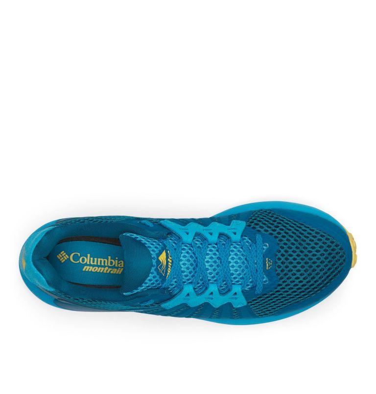 COLUMBIA MONTRAIL F.K.T.™   435   8 Men's Columbia Montrail F.K.T.™ Trail Running Shoe, Dark Turquoise, Golden Nugget, top