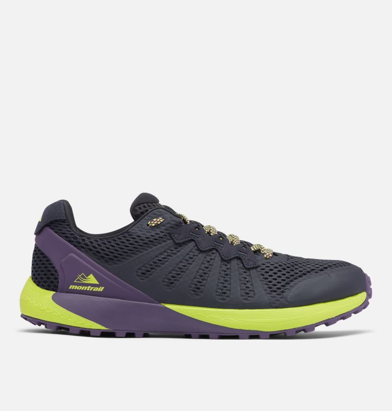 COLUMBIA MONTRAIL F.K.T.™ | 444 | 11.5 Men's Columbia Montrail F.K.T.™ Trail Running Shoe, Extreme Midnight, Acid Green, front