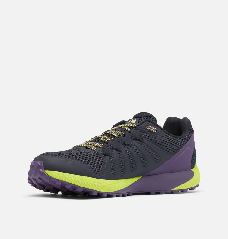 COLUMBIA MONTRAIL F.K.T.™ | 444 | 11.5 Men's Columbia Montrail F.K.T.™ Trail Running Shoe, Extreme Midnight, Acid Green