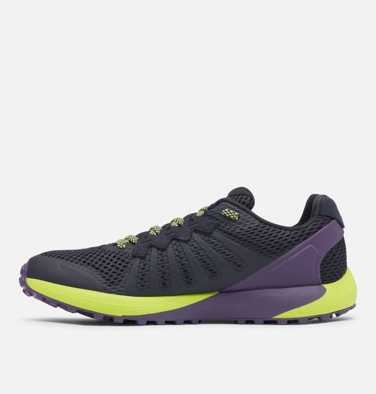 COLUMBIA MONTRAIL F.K.T.™ | 444 | 7.5 Men's F.K.T.™ Trail Running Shoe, Extreme Midnight, Acid Green, medial
