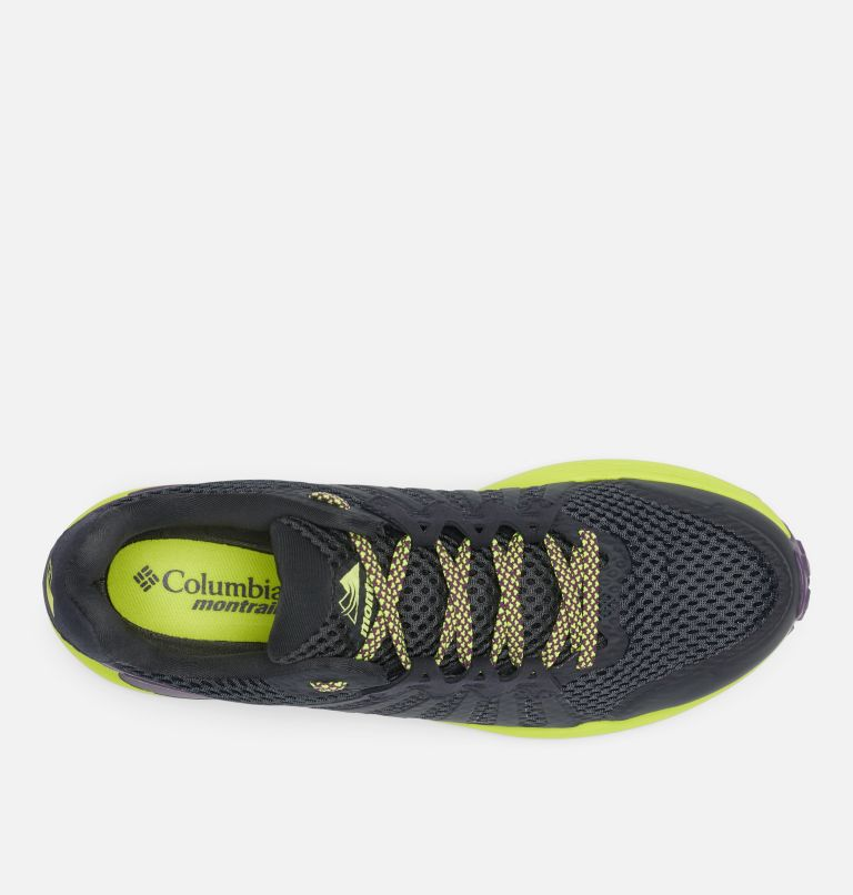 COLUMBIA MONTRAIL F.K.T.™ | 444 | 11.5 Men's F.K.T.™ Trail Running Shoe, Extreme Midnight, Acid Green, top