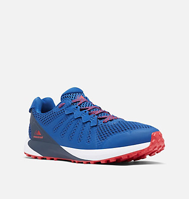 Men's F.K.T.™ Trail Running Shoe COLUMBIA MONTRAIL F.K.T.™ | 444 | 7, Royal, Red Lily, 3/4 front