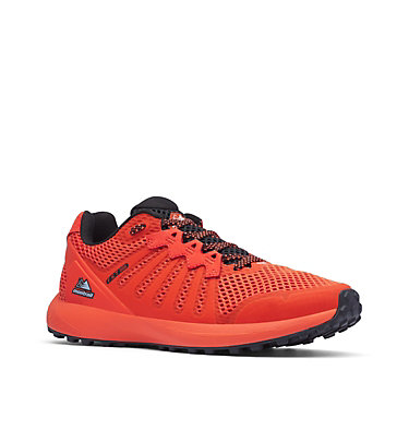 Men's F.K.T.™ Trail Running Shoe COLUMBIA MONTRAIL F.K.T.™ | 444 | 7, Blood Orange, White, 3/4 front