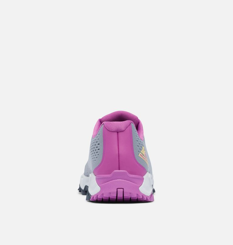 TRANS ALPS™ F.K.T. III | 021 | 5.5 Women's Trans Alps™ F.K.T.™ Shoe, Grey Ash, Berry Jam, back