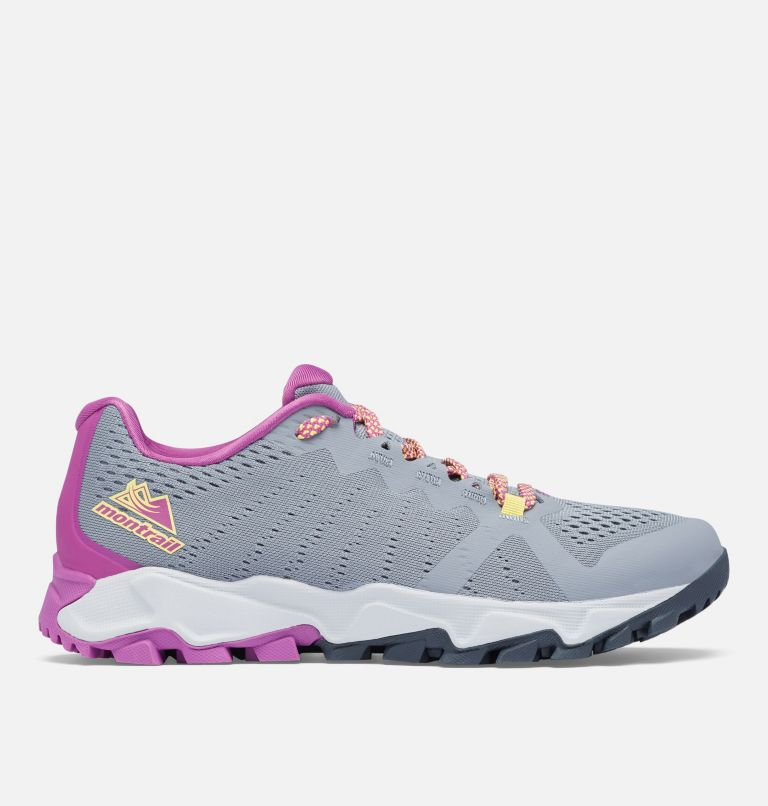 TRANS ALPS™ F.K.T. III | 021 | 11 Women's Trans Alps™ F.K.T.™ Shoe, Grey Ash, Berry Jam, front