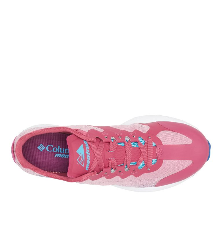 COLUMBIA MONTRAIL F.K.T.™ LITE | 642 | 10 Women's F.K.T.™ Lite Trail Running Shoe, Dark Fuchsia, Cobalt Blue, top